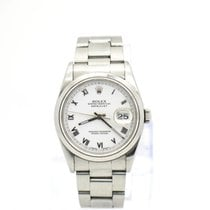 Rolex Oyster Date Just Stahl Automatik