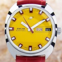 Enicar Swiss Made Mens Rare Authentic Vintage Automatic Watch...