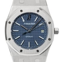 Audemars Piguet Royal Oak Steel 39mm Blue Dial Discontinued 15300