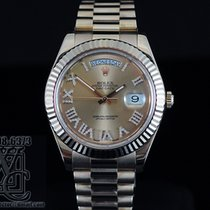 Rolex LD DIAROLEX DAY-DATE II PRESIDENT 18K PINK ROSE   41MM