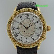 Longines Lindbergh Hour Angel Stundenwinkeluhr 18k / 750 Gold