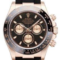 Rolex Daytona Ref.116515LN Schwarzes Zifferblatt / Oysterflex