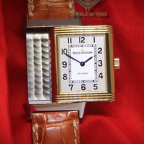 積家 (Jaeger-LeCoultre) Reverso 18k Yellow Gold/Steel Quartz...
