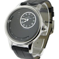 Jaquet-Droz J021010201 Date Astrale in Steel - on Black...