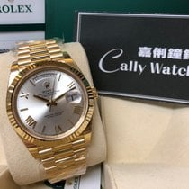 Rolex Cally - Day-Date 40mm 228238 Sliver Roman 銀羅馬字