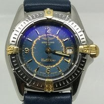 Breitling CALLISTINO LADY STEEL GOLD BLUE DIAL