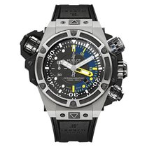 Hublot King Power Oceanographic 100M 48mm Automatic Titanium...
