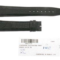 IWC Black Alligator Strap Portoghese Portuguese Portugieser XL