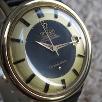 Omega 18K/750Yellow gold Constellation with Two Tone Dial