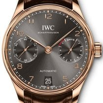 IWC Portugieser Automatic iw500702 7 Days Power Reserve Rose Gold