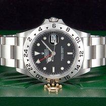 Rolex Explorer II Date Stahl Referenz 16570  NEU &...