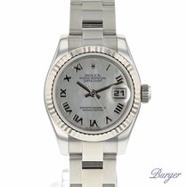 Rolex Lady-Datejust 26 Fluted Mother-Of-Pearl Oyster