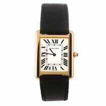 Cartier Tank Solo 18K Yellow Gold Watch W5200004 (Pre-Owned)