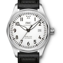 IWC IW327002 Pilots Mark XVIII Automatic in Steel - On Black...
