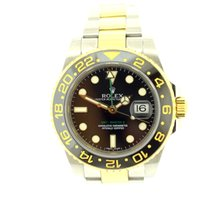 Rolex GMT Ceramic Gold and steel