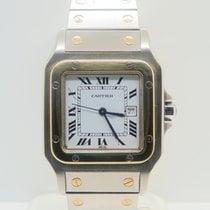 Cartier Santos Galbee 18k Gold Steel Automatic 29mm
