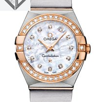 Omega Constellation Quartz 27 Mm With Diamonds - 123.25.27.60....