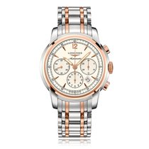 Longines SaintImier Automatic Steel & Rose Gold Mens Watch...