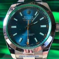 Rolex Milgauss Ref. 116400 GV Box/Papiere/TOP 2015 LC100