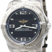 Breitling Aerospace Avantage Titanium Quartz Watch E79362...