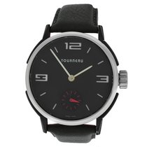 Tourneau Authentic Mens  TNY440102 Stainless Steel 44MM Mecha