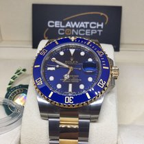 Rolex Submariner 116613LB Blue Gold Steel Ceramic Bezel Date