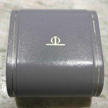 Baume & Mercier vintage watch box leather grey