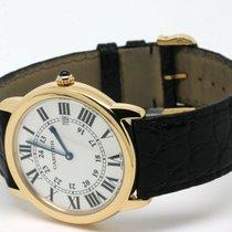 Cartier Ronde Solo 18kt Gold Quarz 36mm