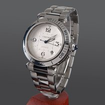 Cartier pasha steel automatic men size