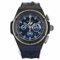 Hublot King Power Interlagos Matte Black Dial Chronograph