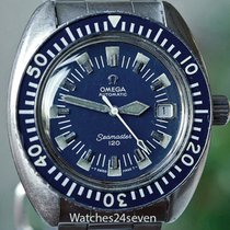 Omega Seamaster 120 Blue Vintage Diver Auto Date