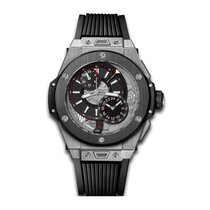 Hublot Big Bang Alarm Repeater 45mm Automatic Titanium Mens...