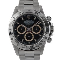 Rolex 'Patrizzi' Daytona Steel with Black Dial, Ref:...
