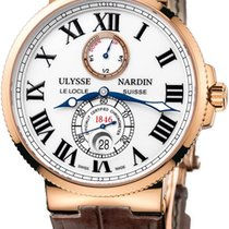 Ulysse Nardin Maxi Marine Chronometer Automatic Rose Gold Mens...