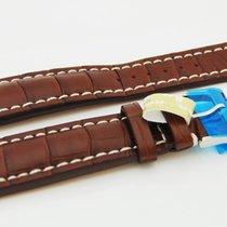 Breitling CROCO Lederband mit Dornschließe 24/20 mm