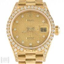 "Rolex Uhr Lady Datejust Diamond Crown Collection ""Presiden..."
