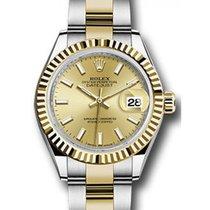 ロレックス (Rolex) Datejust 28 279173 Champagne Index Fluted Bezel...