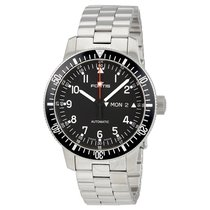 Fortis Cosmonauts Automatic Black Dial Men's Watch 6471011MG