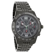 Gucci 126 G-Timeless Mens Swiss Chronograph Quartz Watch YA126217