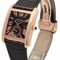 Cartier W5330002 Tank MC Chocolate Dial Auto Men's 18K...