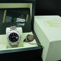 Rolex EXPLORER 2 16570 Black Dial Full Set (NOS)