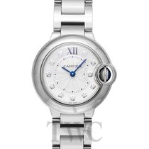 Cartier Ballon Bleu de Cartier Silver Steel Dia 28mm - WE902073