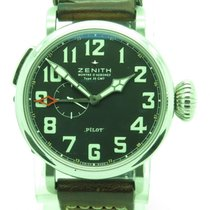 Zenith Pilot Type 20 Gmt Automatic 48mm Mens Watch W/ Box...