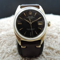 Rolex DATEJUST 6605 18K Yellow Gold with Gilt Dial