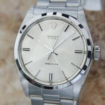 Rolex Mens 1969 Precision 6426 Manual Wind Stainless 34mm...