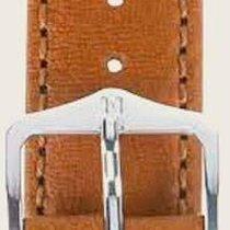 Hirsch Forest Uhrenarmband goldbraun M 17900270-2-18 18mm
