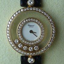 Chopard Happy Diamond 1,00ct. Doppelkranzbesatz as NEW white Dial
