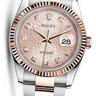 Rolex OYSTER PERPETUAL DATEJUST 36 EVEROSE PINK DIAMOND 116231