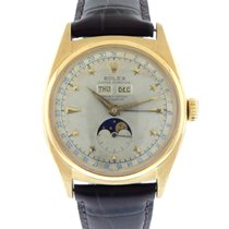 "Rolex Vintage Rolex ""Star Dial""  18k Yellow Gold..."
