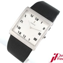 Corum Buckingham   925 Silber/Leder - Handaufzug - von 2000